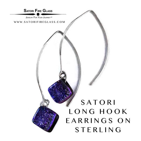 Satori Long Drop Hook Earrings