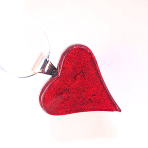 Satori Large Heart with Sterling Silver Chain