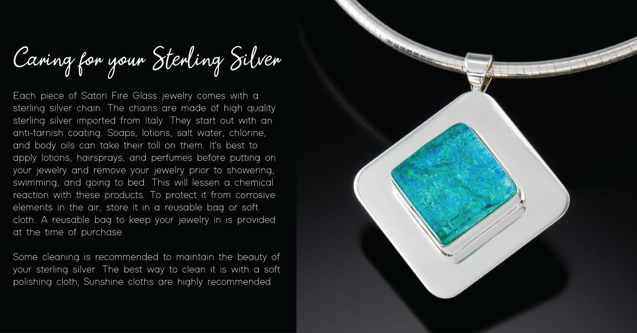 Caring for Your Sterling Silver
