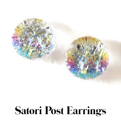 "Satori 1/4"" - 1/2"" Post Earrings"