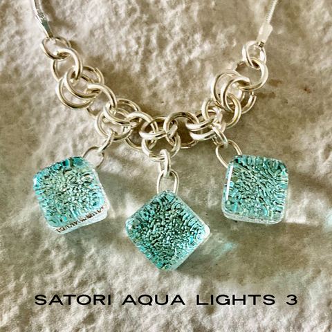 Satori Aqua Lights 3 Necklace