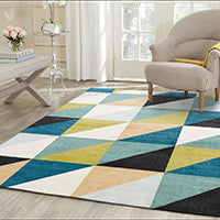 Geometric Patterned Rugs