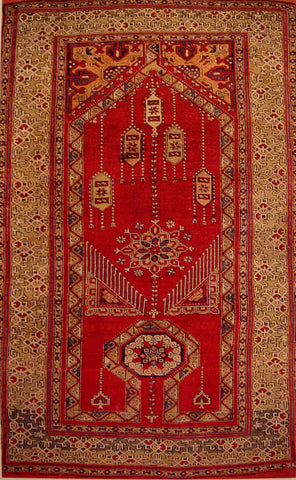 Prayer rug, Anatolia, late 15th to early 16th century