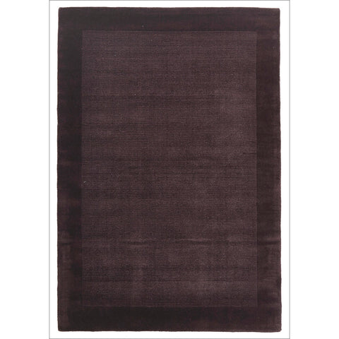 Cut and Loop Pile Rug Purple - Rugs Of Beauty