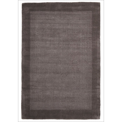 Cut and Loop Pile Rug Grey - Rugs Of Beauty