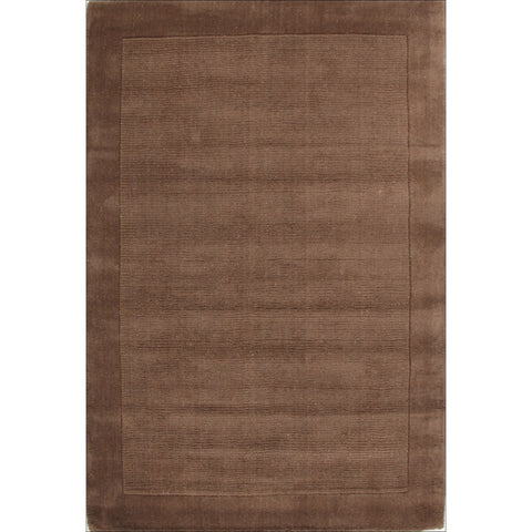 Cut and Loop Pile Rug Taupe - Rugs Of Beauty