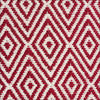 Modern Flatweave Diamond Design Red Rug - Rugs Of Beauty