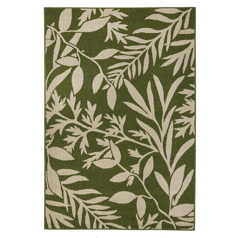 Alfresco 6501 Green Designer Outdoor RugяЛПяЛПяЛПяЛПяЛПяЛПяЛПяЛП - Rugs Of Beauty - 1