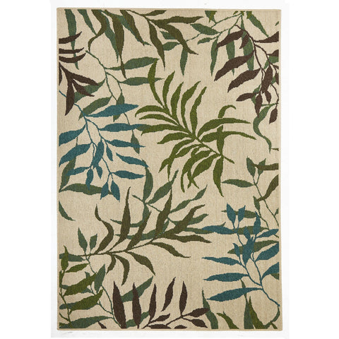 Alfresco 6502 Green Blue Designer Outdoor RugяЛПяЛПяЛПяЛПяЛПяЛПяЛПяЛП - Rugs Of Beauty - 1