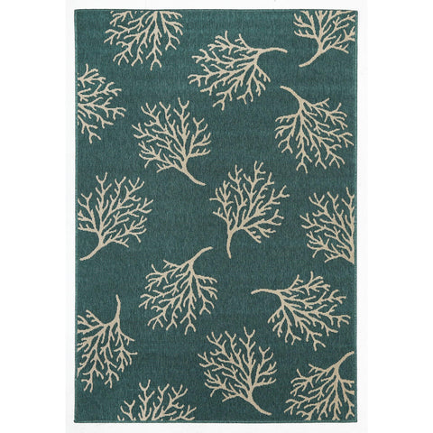 Alfresco 6503 Turquoise Designer Outdoor RugяЛПяЛПяЛПяЛПяЛПяЛПяЛПяЛП - Rugs Of Beauty - 1