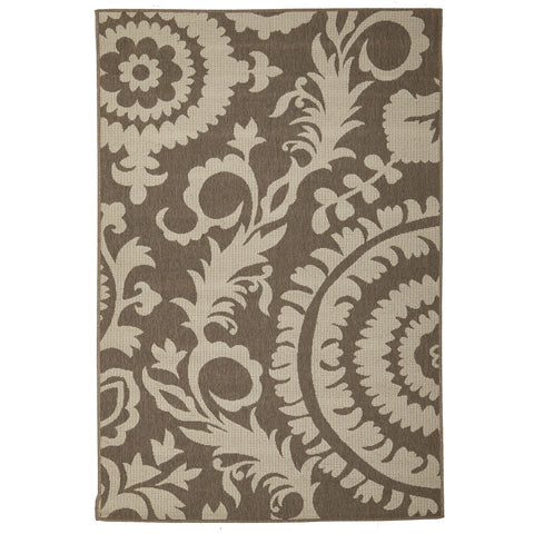 Alfresco 6509 Natural Designer Outdoor RugяЛПяЛПяЛПяЛПяЛПяЛПяЛПяЛП - Rugs Of Beauty - 1
