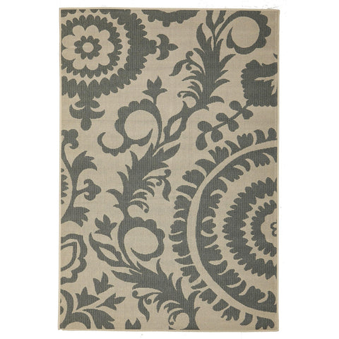 Alfresco 6509 Teal Designer Outdoor RugяЛПяЛПяЛПяЛПяЛПяЛПяЛПяЛП - Rugs Of Beauty - 1
