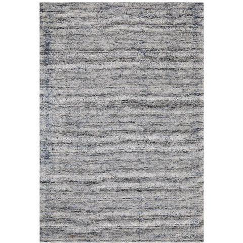 Londrina Indigo Blue Modern Cut Loop Pile Rayon Cotton Rug - Rugs Of Beauty - 1