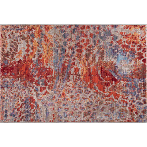 Art Silk Fauna Traditional Rug - Rugs Of Beauty - 1