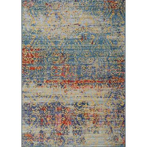 Art Silk Dense Traditional Multi Rug - Rugs Of Beauty - 1