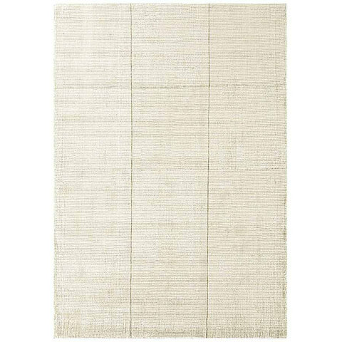 Asiatic Grosvenor Ivory Cream White Designer Rug - Rugs Of Beauty