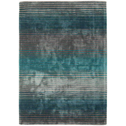 Asiatic Holborn Turquoise Designer Rug - Rugs Of Beauty