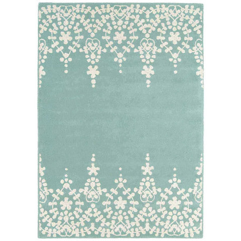 Asiatic Guild Blue Designer Rug - Rugs Of Beauty