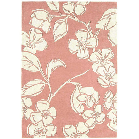 Asiatic Devore Pink Designer Rug - Rugs Of Beauty