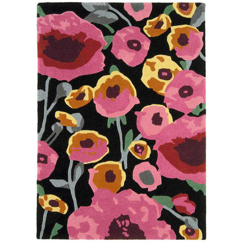 Asiatic Calisto Black/Multi Designer Rug - Rugs Of Beauty - 1