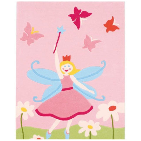 Arte Espina Fairy and Butterflies Rug 160x110cm - Rugs Of Beauty