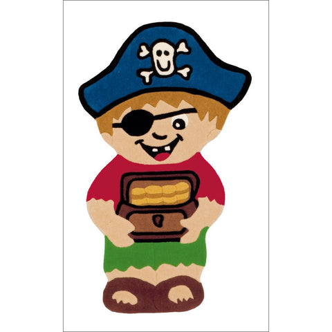 Arte Espina Pirate and Treasure Shaped Rug 120x72cm - Rugs Of Beauty