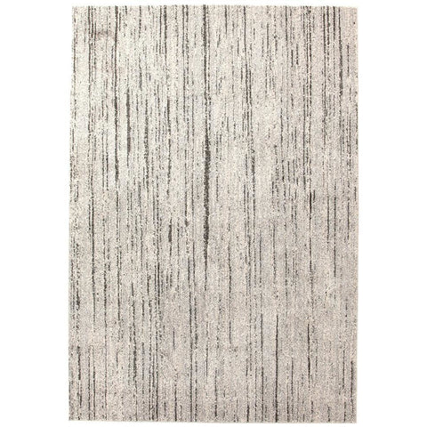 Luna 424 Grey Beige Abstract Patterned Modern Rug - Rugs Of Beauty - 1