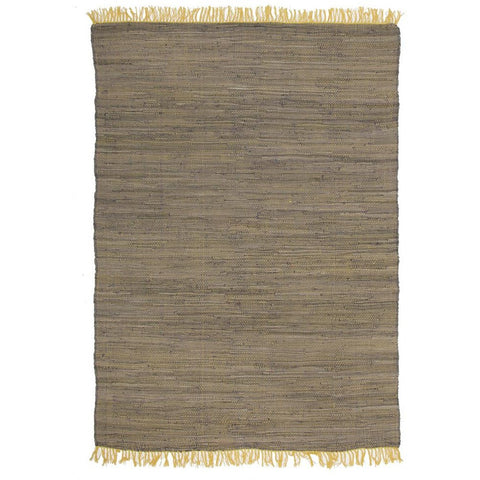Atrium Code Yellow Designer Flatweave Rug - Rugs Of Beauty