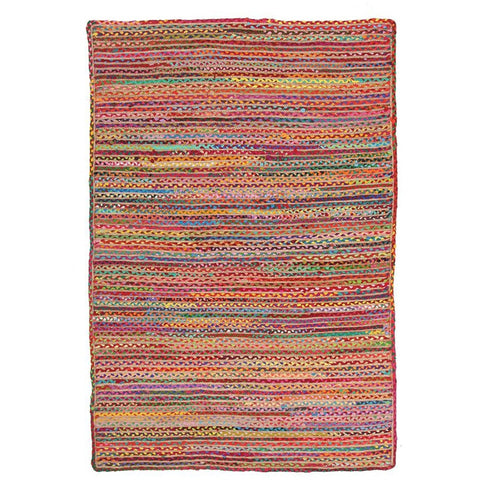 Atrium Grind Multi Designer Flatweave Rug - Rugs Of Beauty