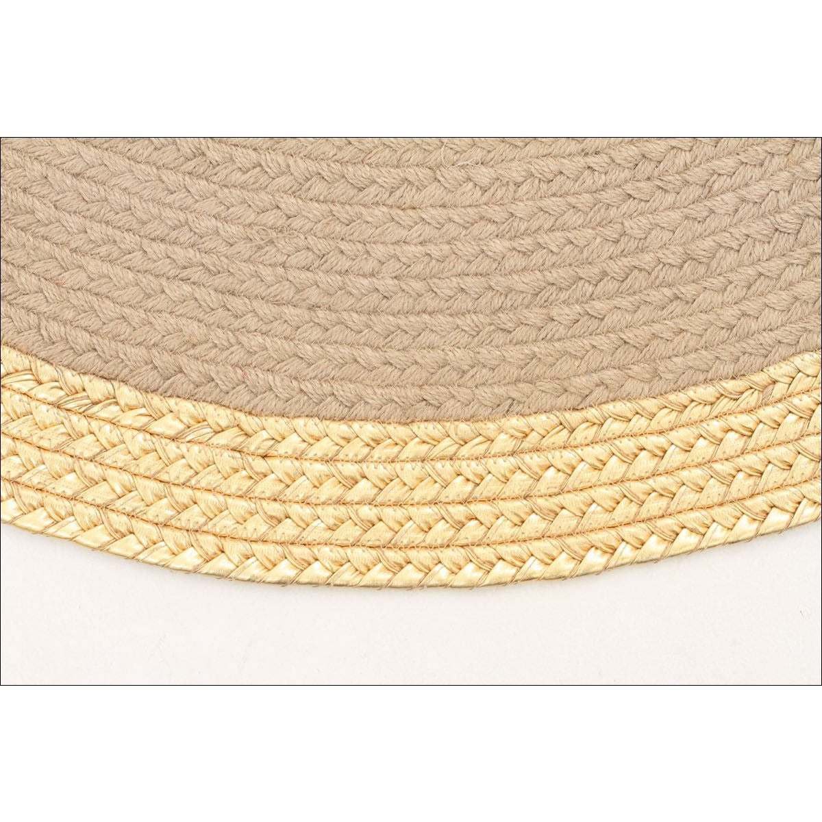 milano metallic gold and natural rug flatweave round rug rugs of beauty