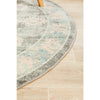 Vedi 2671 Grey Rose Transitional Round Rug - Rugs Of Beauty - 6