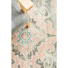 Vedi 2671 Grey Rose Transitional Round Rug - Rugs Of Beauty - 8