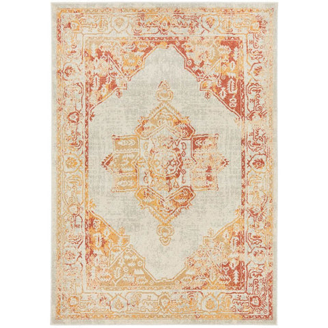 Vedi 2672 Yellow Orange Earth Transitional Rug - Rugs Of Beauty - 1