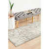 Vedi 2674 Silver Grey Rose Multi Coloured Transitional Runner Rug - Rugs Of Beauty - 3