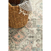 Vedi 2674 Silver Grey Rose Multi Coloured Transitional Runner Rug - Rugs Of Beauty - 8