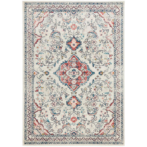 Vedi 2675 Rose Blue Beige Transitional Rug - Rugs Of Beauty - 1