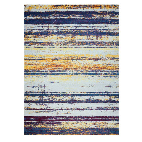 Kara 929 Multi Colour Modern Abstract Pattern Rug - Rugs Of Beauty - 1