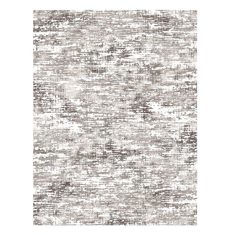 Meknes 338 Brown Modern Patterned Textured Rug - Rugs Of Beauty - 1