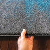Dover Grey Blue Black Abstract Patchwork Modern Rug - 2