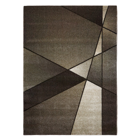 Guildford 647 Latte Modern Abstract Patterned Rug - Rugs Of Beauty - 1