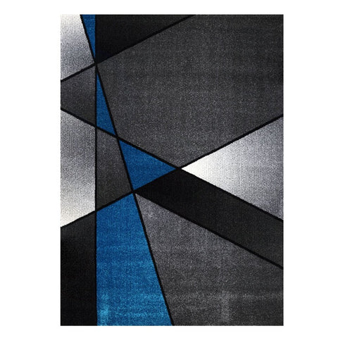 Guildford 647 Opal Grey Modern Abstract Patterned Rug - Rugs Of Beauty - 1