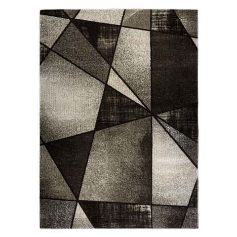 Guildford 648 Latte Modern Abstract Patterned Rug - Rugs Of Beauty - 1