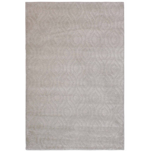Parime Bone and Beige Honeycomb Pattern Rug - Rugs Of Beauty