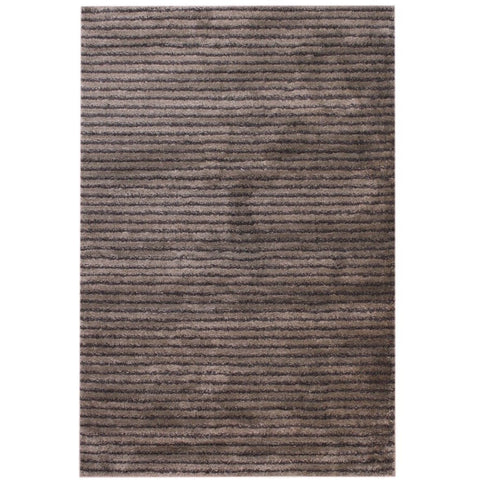 Manta Cocoa and Beige Modern Floor Rug - Rugs Of Beauty