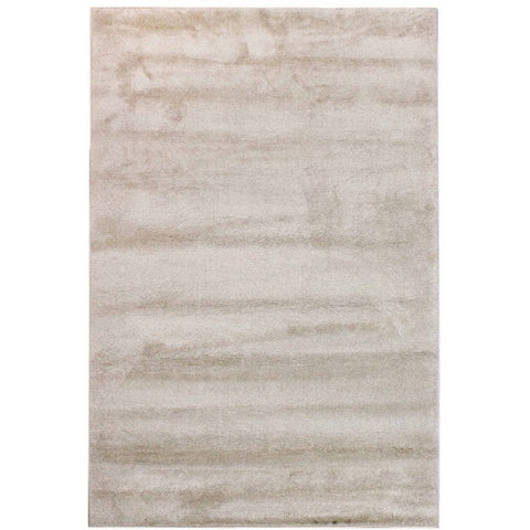 Parime Bone and Beige Modern Rug - Rugs Of Beauty