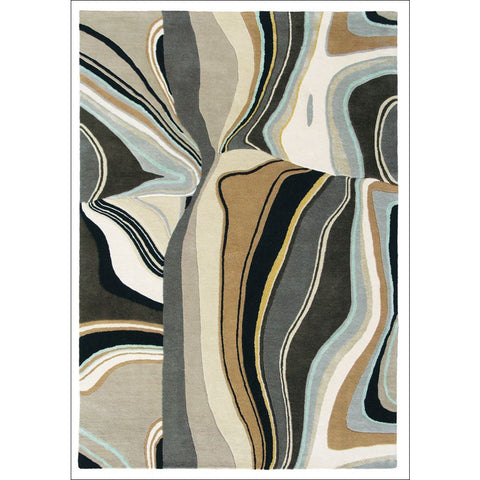 Brink & Campman Estella Curve 83801 Designer Wool Rug - Rugs Of Beauty - 1