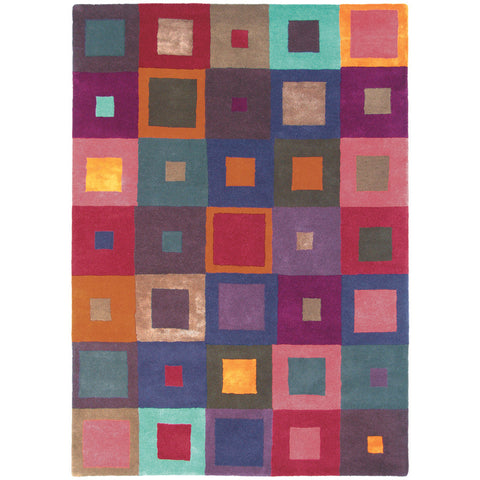 Brink & Campman Estella Carre 84400 Designer Wool Rug - Rugs Of Beauty - 1