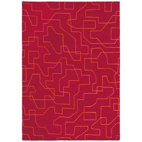 Brink & Campman Estella Maze 85100 Designer Wool Rug - Rugs Of Beauty