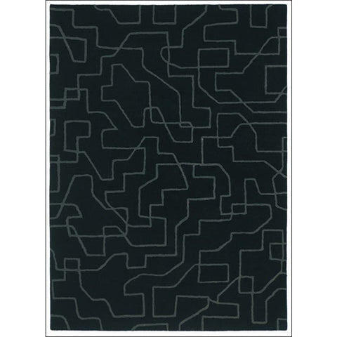 Brink & Campman Estella Maze 85105 Modern Designer Wool Rug - Rugs Of Beauty