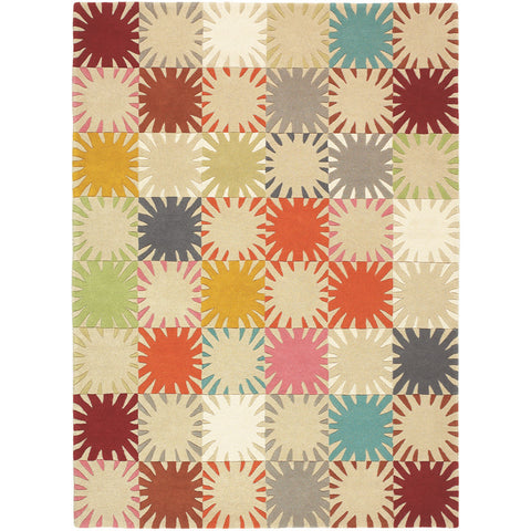 Brink & Campman Estella Blanket 85801 Designer Luxury Pure Wool Rug - Rugs Of Beauty - 1
